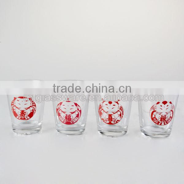 2.5oz newest mini gift dacking shot glass set