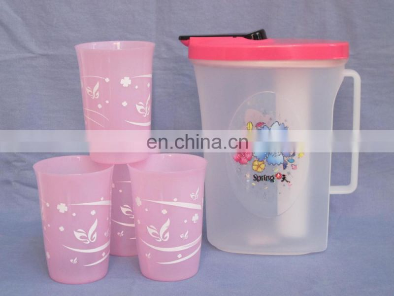 2015 good quality plastic infuser pitcher
