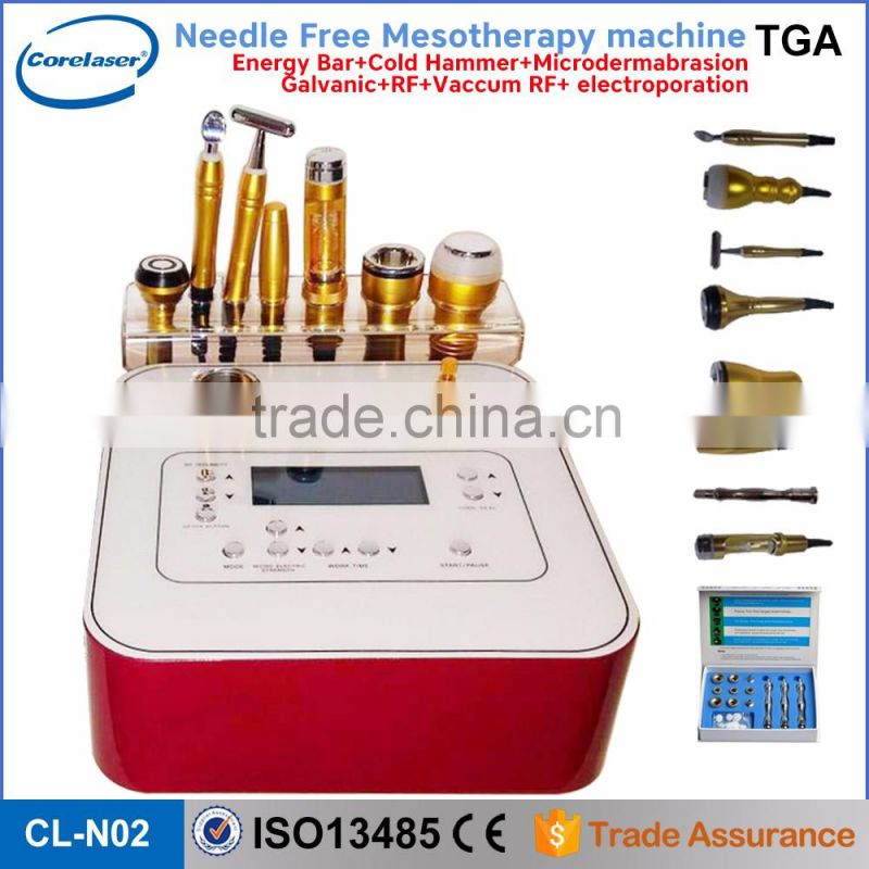 portable face whitening needle free injector no needle mesoterapia facial