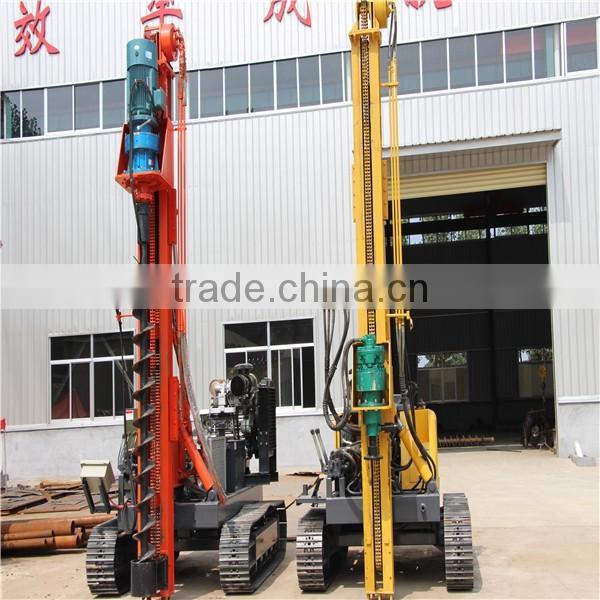 New Hydraulic Vibratory Hammer Pile Driver For Ground Screw