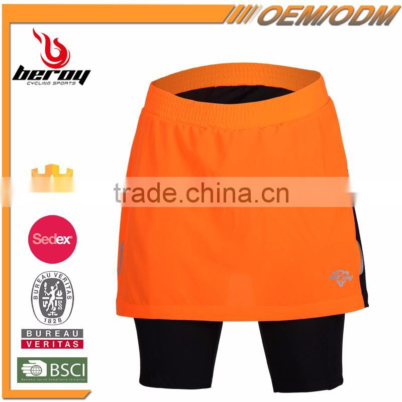 BEROY custom women's cycling shorts,wholesale bike riding shorts