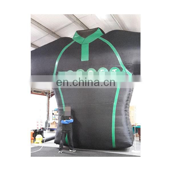 advertising inflatable clothes decoration cloth for sale