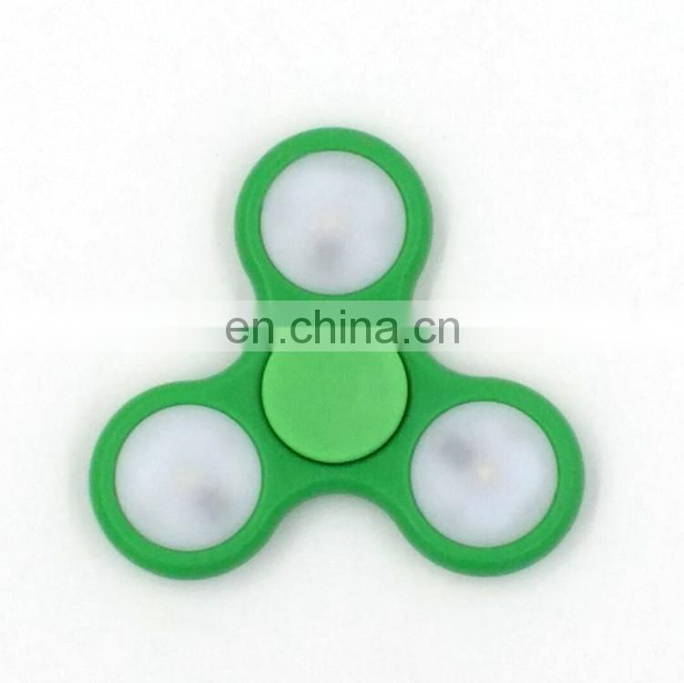 Factory Wholesale For Adult Focus Hand Finger Gyro Fidget LED spinner