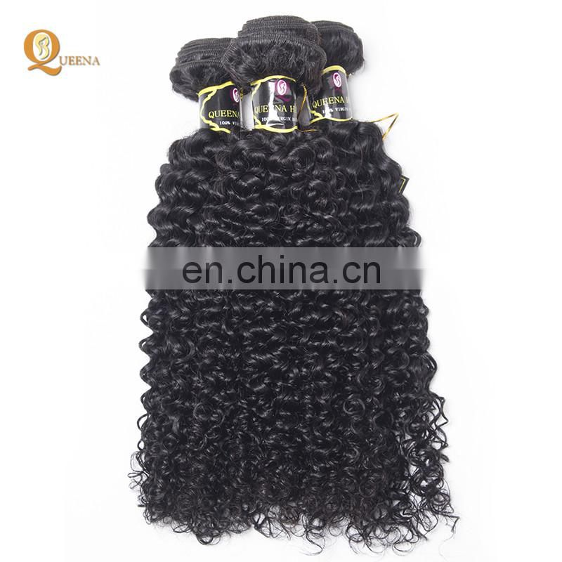 Machine Made Hair Weft Frontal Lace Closure With Bundles Raw Indian Virgin Hair Curly