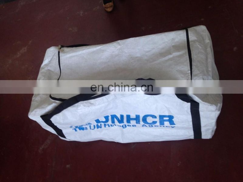 Hot selling great PE tarpaulin for outdoor waterproof cover,disaster relief tarp bags