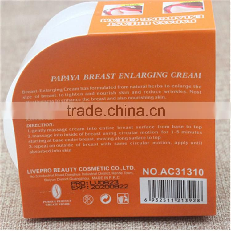 wholesale OEM Chinese Herbal Essence Breast Enhancement Cream / Firming Breast Enlargement Cream