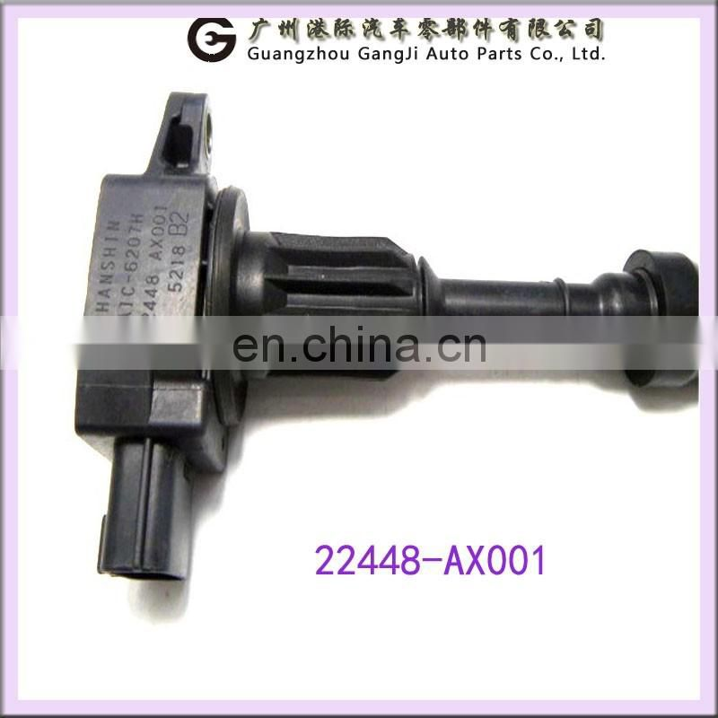 Good Price Auto Ignition Coil 22448-AX001 For Nissans MICRA 1.0