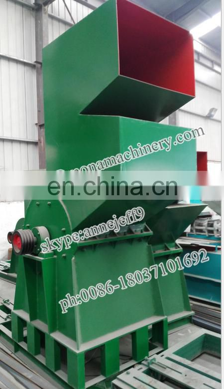 Special designed glass crusher, glass crusher machine for sale