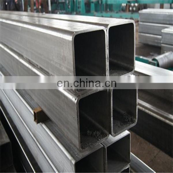 TP 201 Seamless stainless steel square pipe, rectangle pipe 12mtr