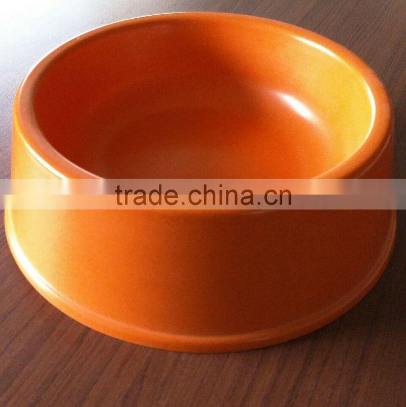 OEM available Popular Wholesale bamboo fiber dog bowl