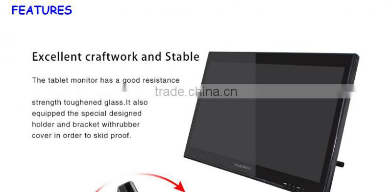 New Arrival!Huion GT-190 function well 19 inch good digital pen tablet monitor