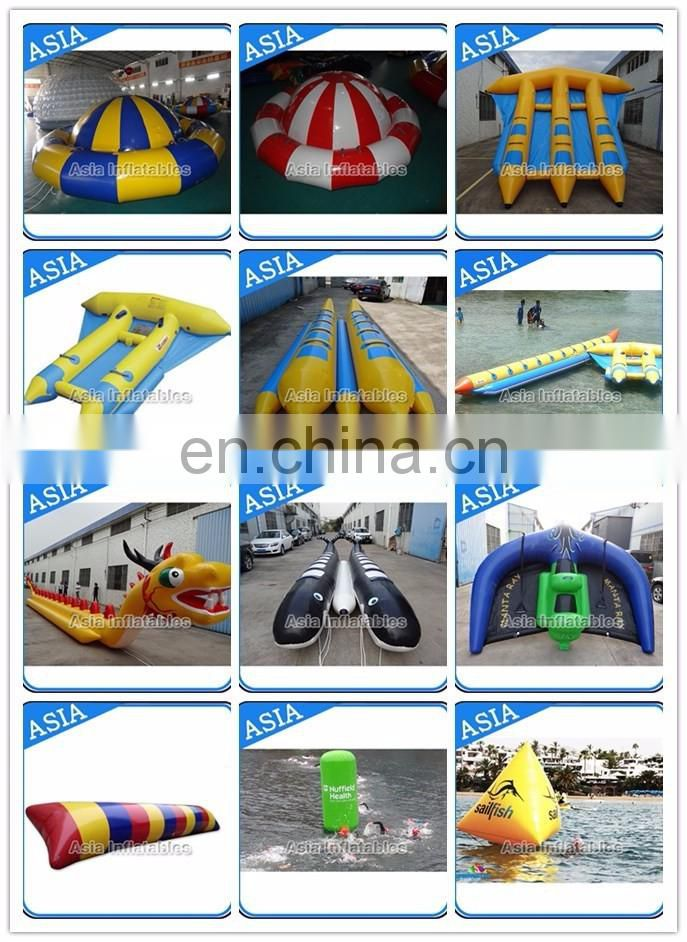 Water sled banana boat For Sea Or Ocean / Wholesale price inflatable banana boat
