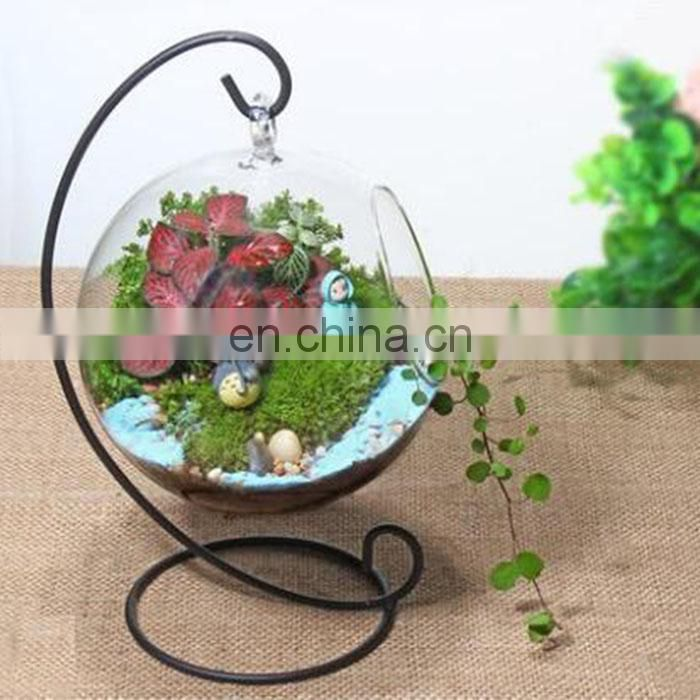 terrarium glass terrarium round clear glass globe ball terrarium Planters Container Glass Flower Vase