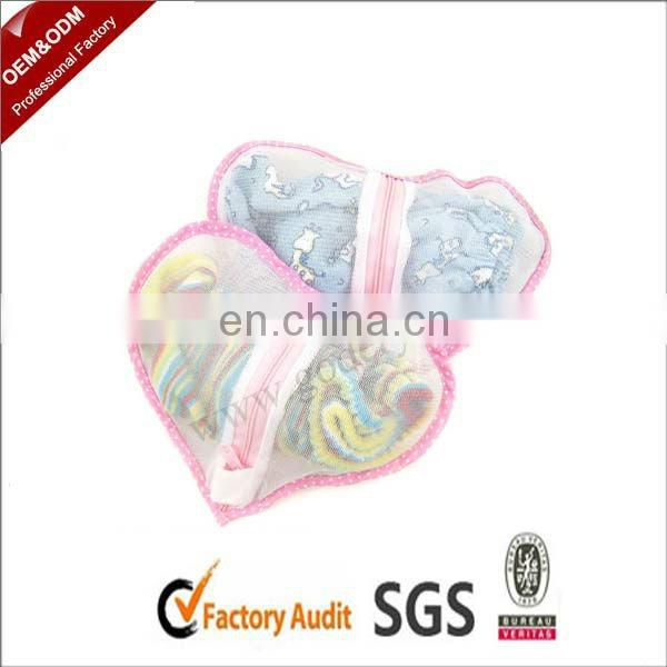 Lovely heart wholesale laundry bags
