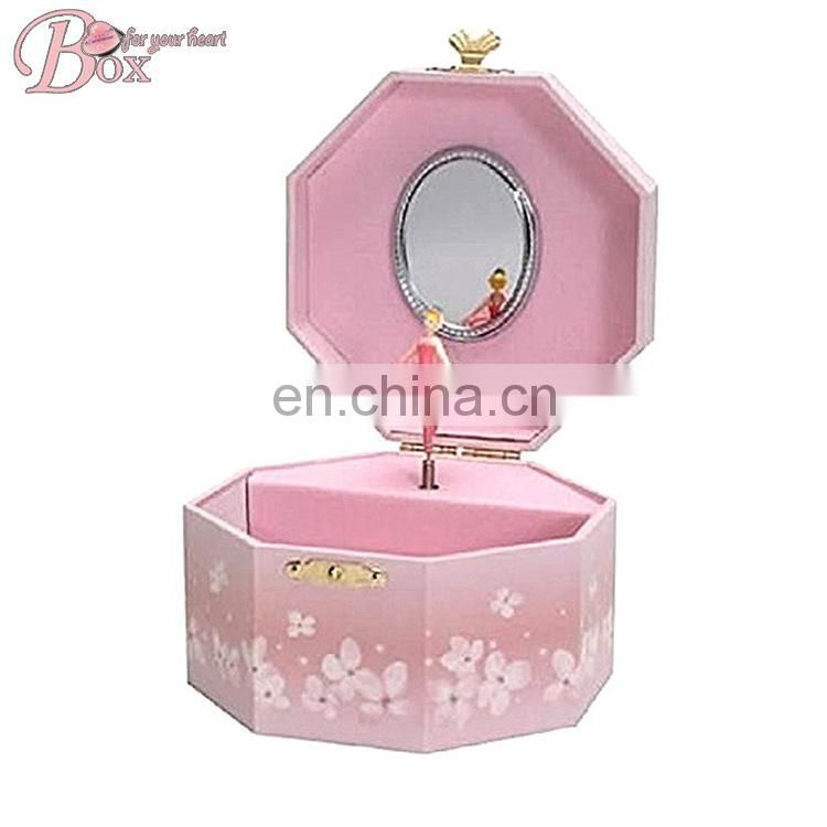 Girls Ballerina Jewelry Music Box for Gift
