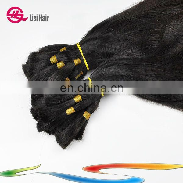 Made In China Alibaba Express 5A virgin hand tied braid hair
