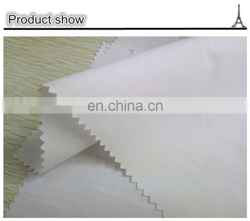 Factory direct supply high quality tc pocketing linen fabric greige fabric