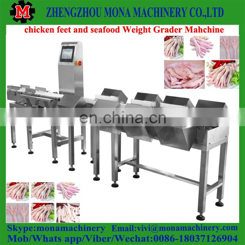 Commercial Factory Price Seafood Weight Sorting Machine