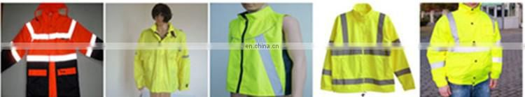Hi Vis road safety reflective jacket with hat