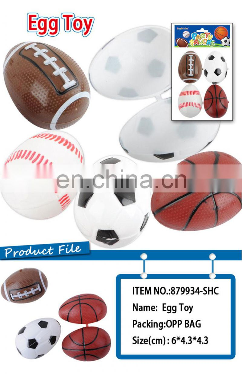 Promotional Gift Plastic Egg Toy surprise eggs