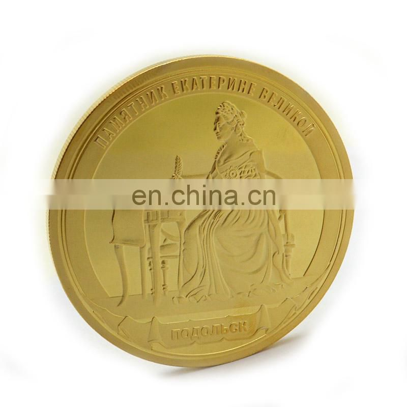 High quality gold plated metal 2 euro coins