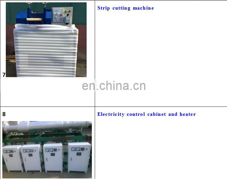 waste plastic granules making machine/plastic recycling machine