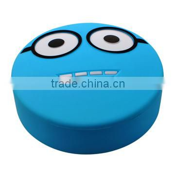 5200mAh Smiling face gift power bank for promotion Walmart supplier