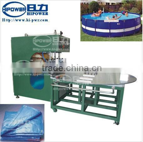 High frequency liquid tank canvas advertising printing cloth shade cloth welding machine
