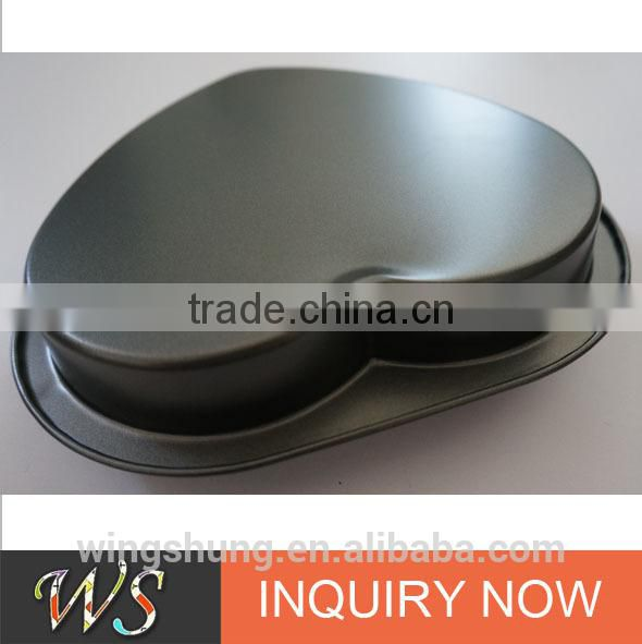 Professional Nonstick Bakeware 9-Inch Heart Cake Pan