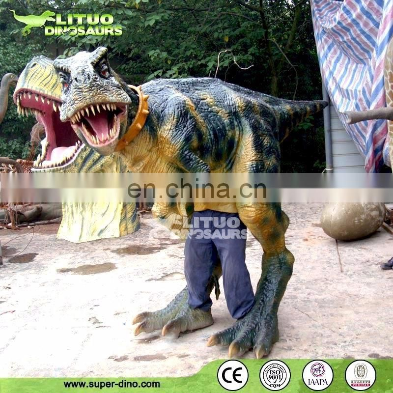 Baby T-rex Adult Walking with Dinosaur Costume