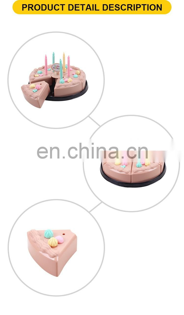 New product kitchen toys plastic cake