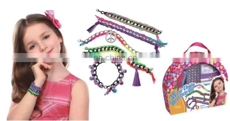 2015 fashion handbox set---DIY weaving friendship bracelet set