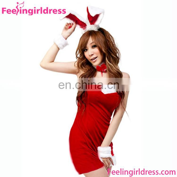Cheap Sexy Women Dress Christmas Candy Outfits Christmas Costume
