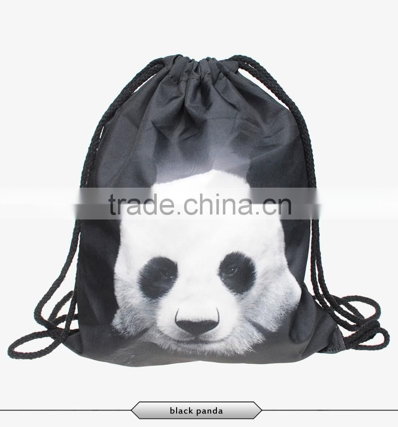 ee4bd9727b0a 3d digital print mochila drawstring bag unisex backpacks aztec ...