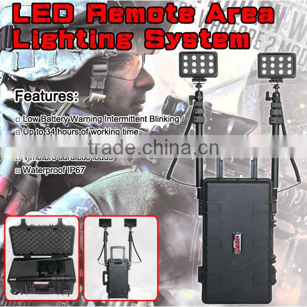 rescue equipment led industrial light 72w rechargeable led work lights
