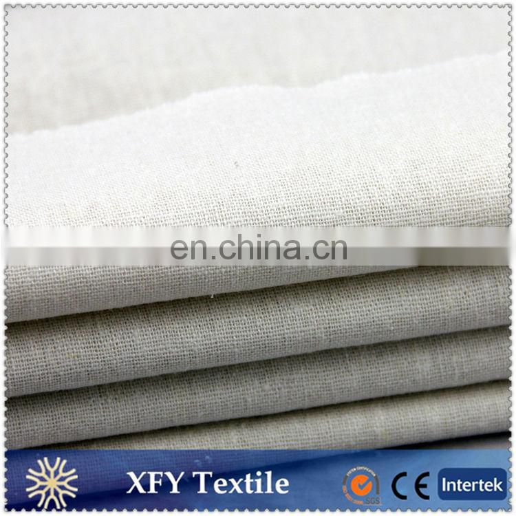 XFY washing finish dyed rayon linen fabric
