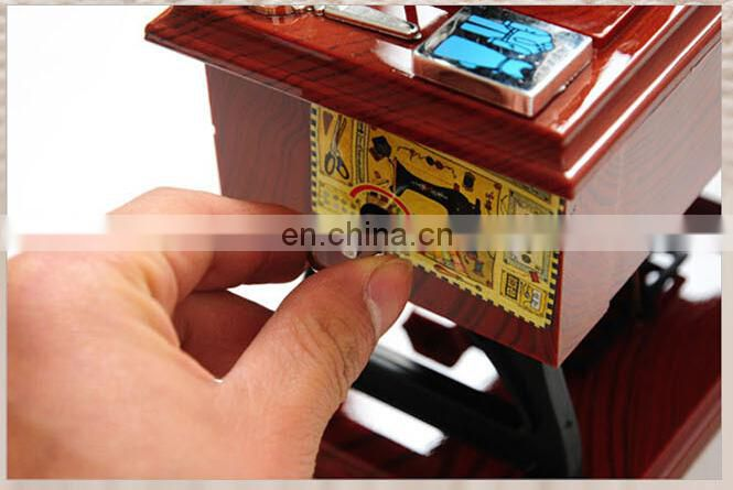 Valentine's Day gift vintage sewing machine music box for wedding gifts