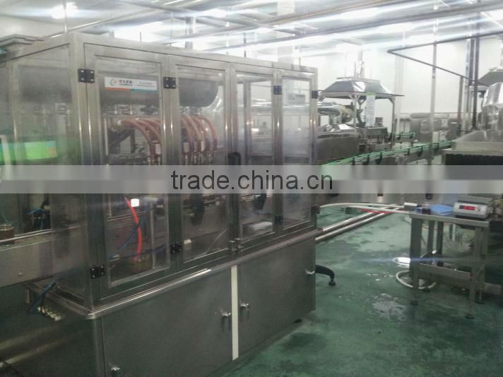 Full Automatic Canned Mushroom Production Line ( Filling Sealling and Labeling Line)