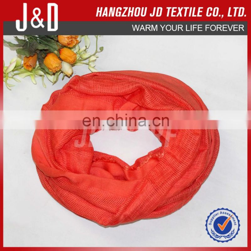 Solid color can be customed 100% acrylic scarf