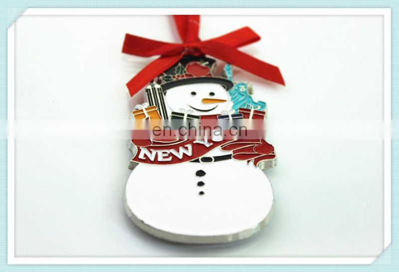 Free Samples Hot Sale Snowman Christmas Decoration Hanging on Christmas Tree