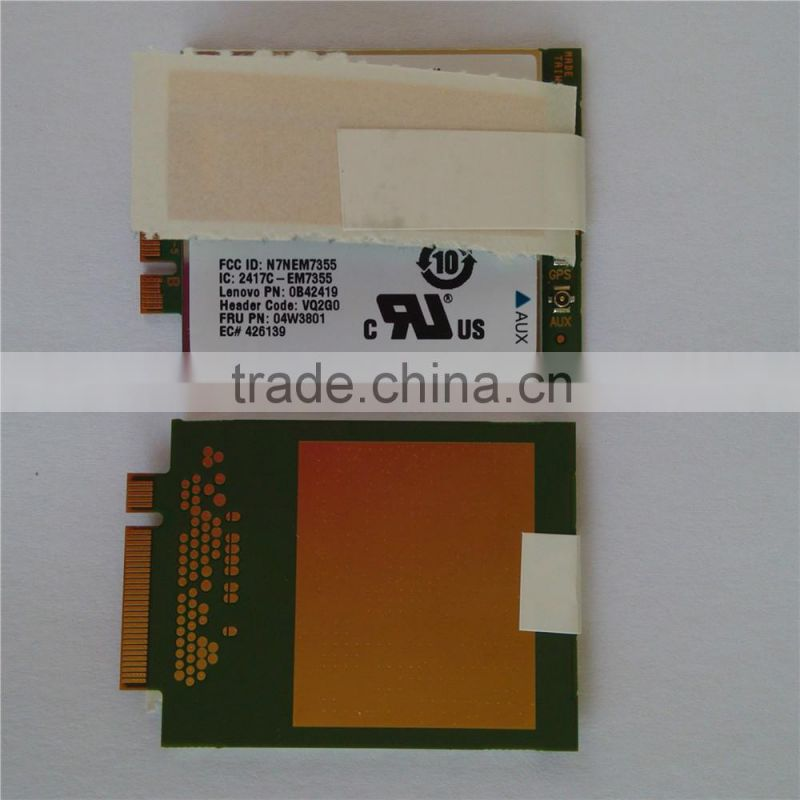 MDM 9615 Qualcomm EM7355 04W3801 4G WWAN Card for THINKPAD X1 X240