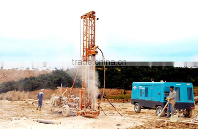 China manufacturer new design homemade water well drilling rig