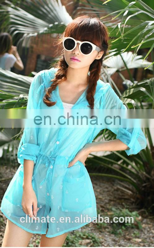2014 sun protection overcoat for ladies