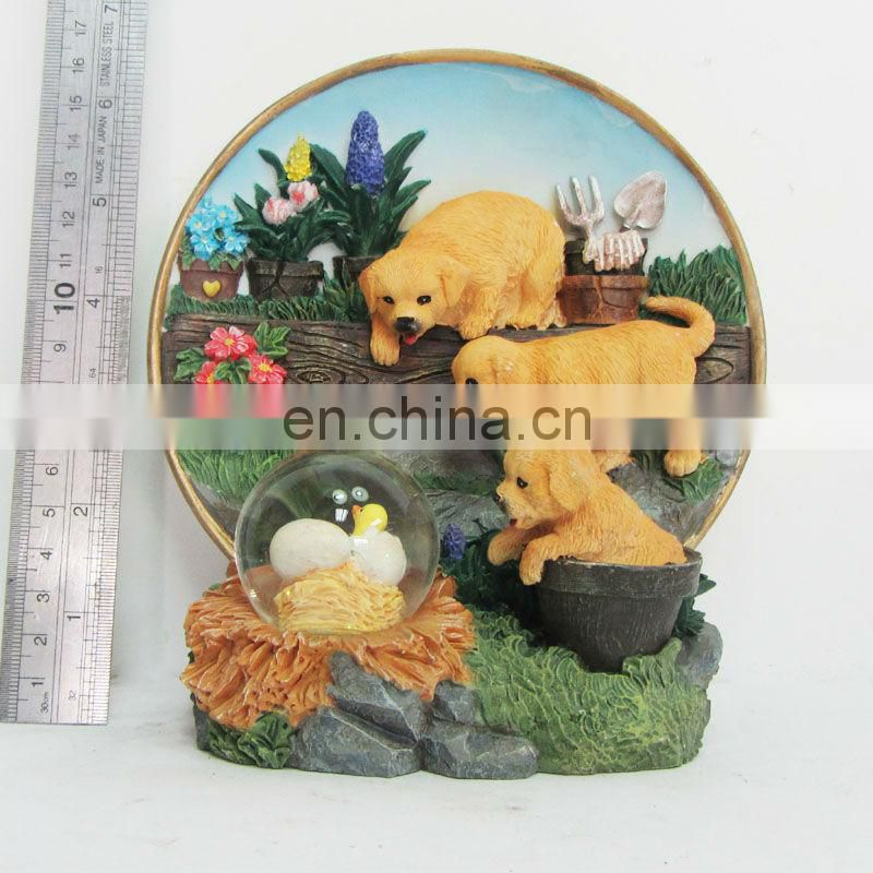 resin bull ox interior decoration statues