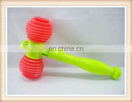 Kids promotion toys funny whistle hammer toys