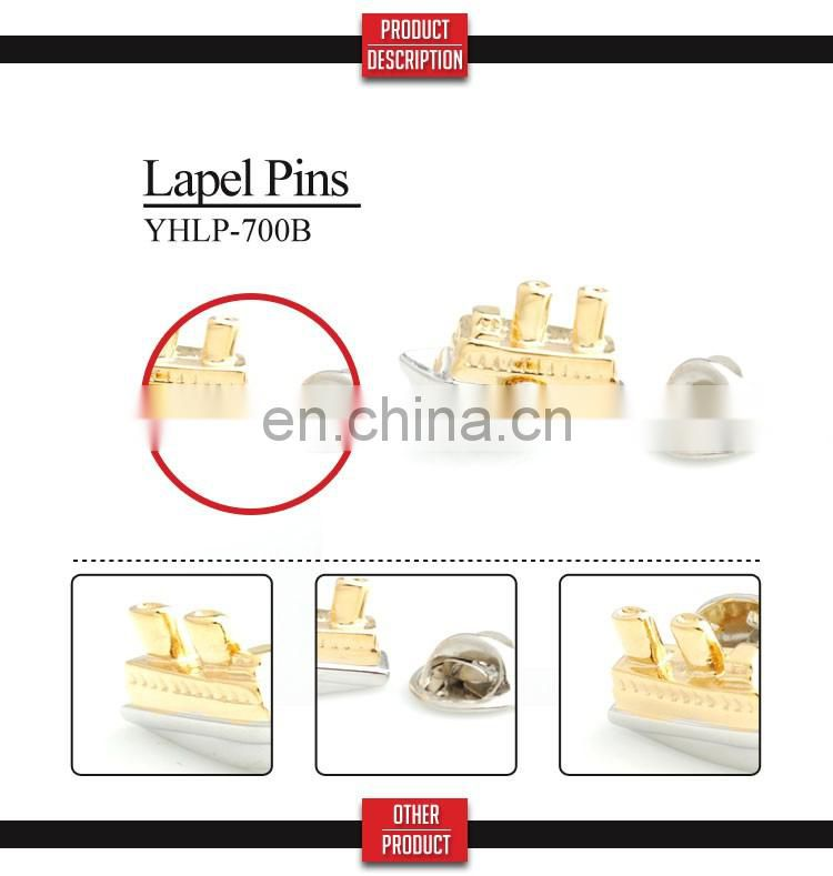 factory direct sale metal lapel pin brooches badge