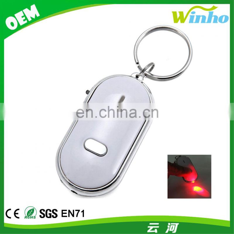 Winho Wireless Key Finder Locator LED Light Whistle Key Chain