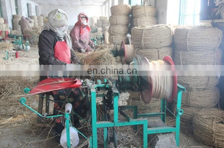 Automatic Straw Rope Knitting Machine With Best Price