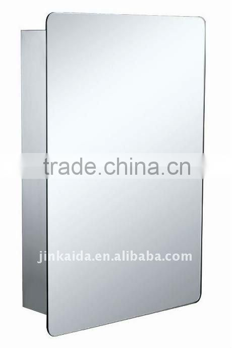 Stainless steel bathroom mirror cabinet sliding door 2366 mirror cabinet