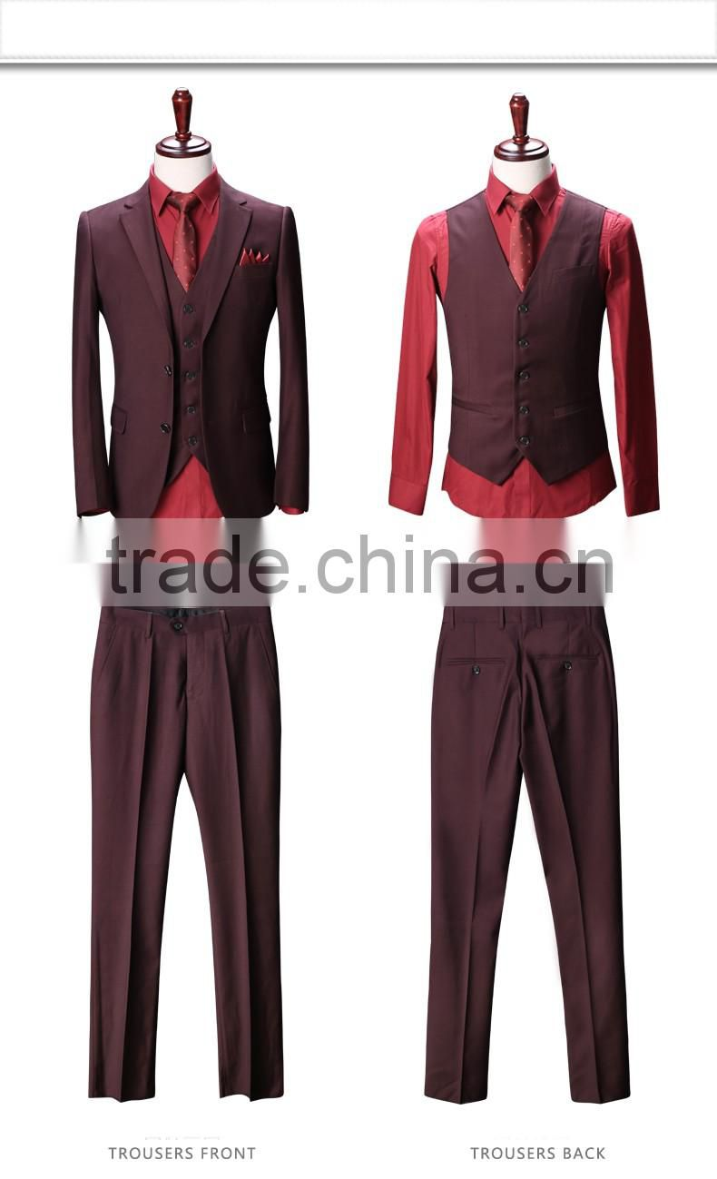 Quality bespoke coat pant men suit customized tailored white suit for men